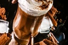 Chocolate belga gelado