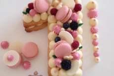 cake numeral 2